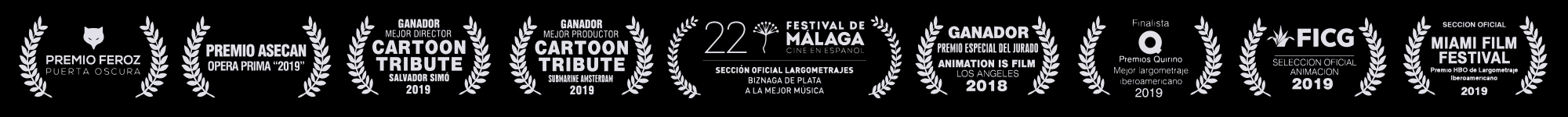 premios de la película Buñuel en el laberinto de las tortugas